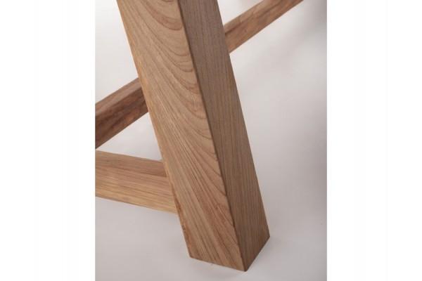 Hercules Teak Plankebord - 100x200 cm