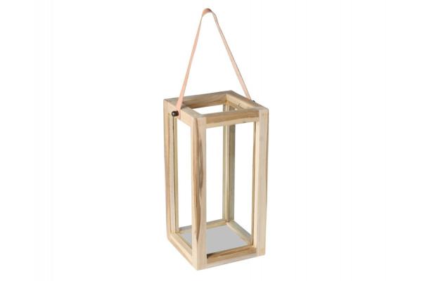 Lanterne - Teak - 40 cm