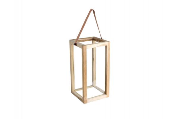 Lanterne - Teak - 32 cm