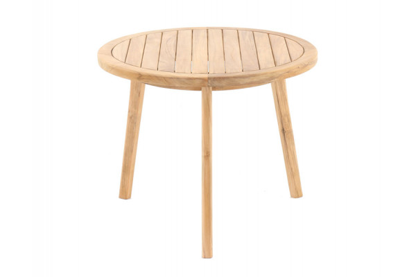 Teak Sidebord - Ø65 cm