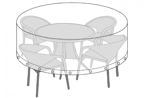 Overtræk (Ø180) til rundt bord