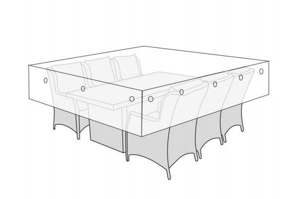 Overtræk (230x215) til havemøbelsæt