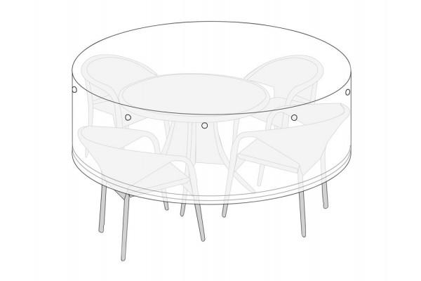 Overtræk (Ø220) til rundt bord